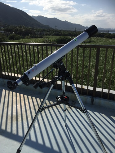 望遠鏡買いました